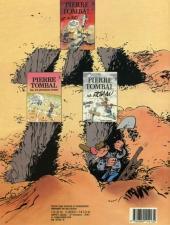 Verso de Pierre Tombal -2a1987- Histoires d'os