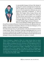 Verso de (AUT) Sfar - Entretiens avec Joann Sfar