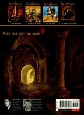 Verso de Scorpion (The) -4- The Treasure of the Templars