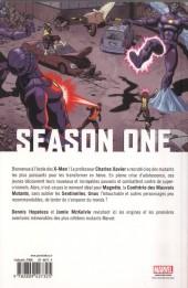 Verso de Season One (100% Marvel) -4- X-Men
