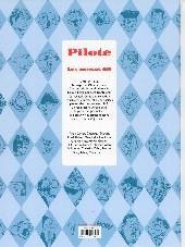 Verso de Les plus belles histoires de Pilote -1- Les années 60
