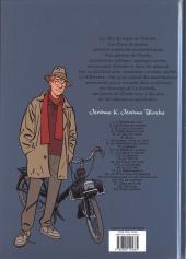 Verso de Jérôme K. Jérôme Bloche -2e2012- Les Êtres de papier