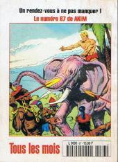 Verso de Capt'ain Swing! (2e série - Mon Journal) -67- Le diabolique Lord Charles