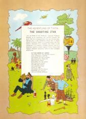 Verso de Tintin (The Adventures of) -10- The Shooting Star
