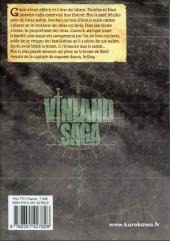 Verso de Vinland Saga -11- Tome 11