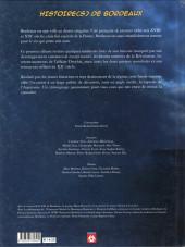 Verso de Histoire(s) (Éditions Grand Sud) - Histoire(s) de Bordeaux 1