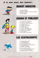 Verso de Les schtroumpfs -6Total- Le Cosmoschtroumpf