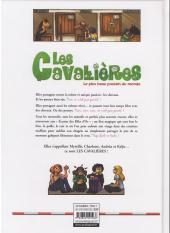 Verso de Les cavalières -1- Le plus beau poulain du monde