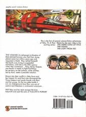 Verso de Yoko Tsuno (en anglais, chez Comcat Comics) -1- Vulcan's force