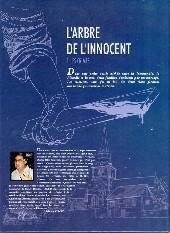 Verso de L'arbre de l'innocent -1- Les crimes...