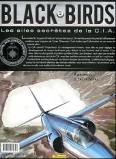 Verso de Black Birds - Les Ailes secrètes de la C.I.A. -2- Dans la gueule du loup