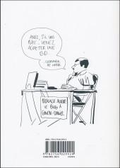 Verso de Bastien Vivès -6- La Bande Dessinée
