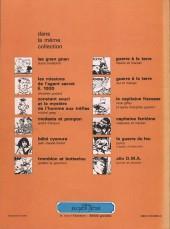 Verso de Les naufragés (Cauvin/Bretécher) - Les naufragés