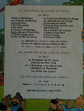 Verso de Tintin (Historique) -19B30- Coke en stock