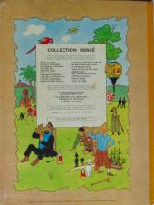 Verso de Tintin (Historique) -14B31- Le temple du soleil