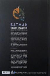 Verso de Batman : Un long Halloween -INTb12- Un long Halloween