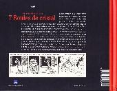 Verso de Tintin - Divers -13- Les Mystères des 7 Boules de cristal