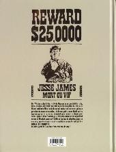 Verso de Pinkerton -1- Dossier Jesse James - 1875