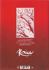 Verso de Freaks' Squeele Rouge -1- Cœur ardent