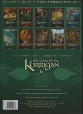 Verso de Les contes du Korrigan -6b- Livre sixième: Au Pays des Highlands