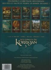 Verso de Les contes du Korrigan -5b2012- Livre cinquième : L'Île d'Émeraude