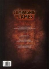 Verso de La compagnie des lames -2- Désolation