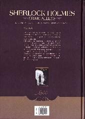 Verso de Sherlock Holmes: Crime Alleys -1- Le Premier Problème