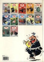 Verso de L'agent 212 -10a1991- Agent trouble