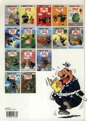 Verso de L'agent 212 -13a1993- Un flic flanche