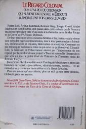 Verso de (AUT) Pratt, Hugo - Le Regard colonial