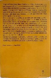 Verso de (AUT) Pratt, Hugo - Une vie d'aventures