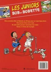 Verso de Bob et Bobette (Les Juniors) -4- En safari