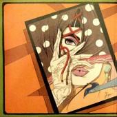 Verso de Glamour international -8- The Kiss