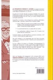Verso de (AUT) Jacobs, Edgar P. -28TT1- La Revanche d'Edgar P. Jacobs