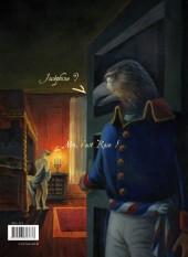 Verso de La rose et l'Aigle -3- Conspiratrice