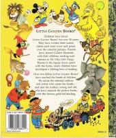 Verso de A little golden book - Mickey's walt disney world adventure