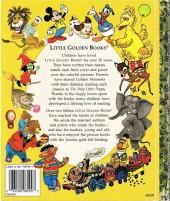 Verso de A little golden book - Fairy tale theater rapunzel