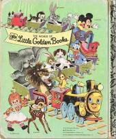 Verso de A little golden book -15D- Mickey mouse's picnic