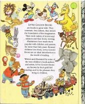 Verso de A little golden book -45909- Mickey's christmas carol