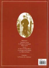 Verso de Théodore Poussin -8- La Maison dans l'île