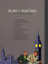 Verso de Blake et Mortimer - La collection (Hachette) -1- Le Secret de l'Espadon - Tome I - La Poursuite fantastique