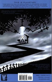 Verso de Planetary (1999) -INT02- The Fourth Man