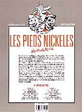 Verso de Les pieds Nickelés (Intégrale) -2- Tome 2