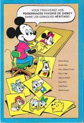 Verso de L'album du collectionneur (Éditions Héritage) -5003- Daisy et Donald 4 - 5 - 6
