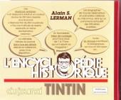 Verso de (DOC) Journal Tintin -7- L'Encyclopédie historique du journal Tintin-Kuifje
