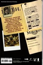 Verso de M.I.T.H. (2005) -GN- Operation Smoking Jaguar