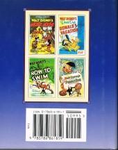 Verso de A Disney Miniature - The disney poster-the animated film classics