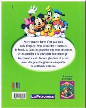 Verso de Le monde merveilleux de la connaissance (Disney-journal La Provence) -2- L'espace