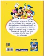 Verso de Le monde merveilleux de la connaissance (Disney-journal La Provence) -3- Le corps humain