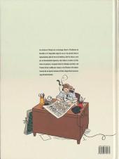 Verso de Les aventures d'Hergé